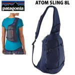 PATAGONIA  パタゴニア リュック ショルダーバッグ ATOM SLING 8L CLASSIC NAVY-CLASSIC NAVY 48261 CACL アトムスリング  バックパック・リュックサック【C1】